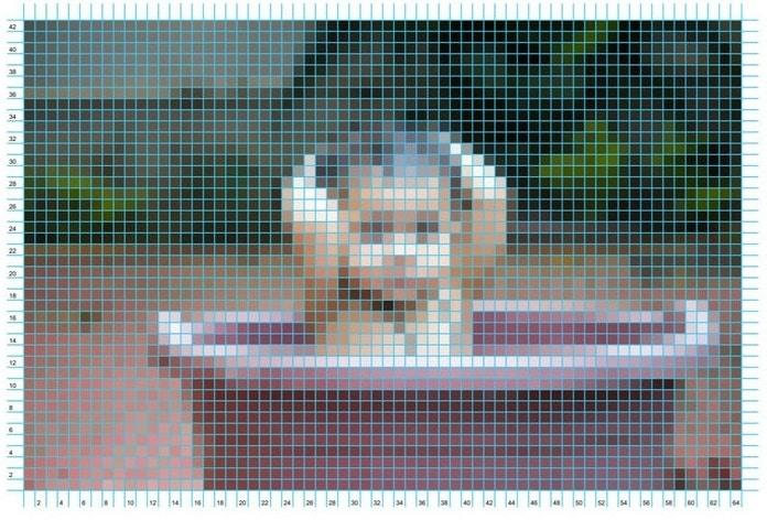 Come trasformare foto e disegni in schemi per punto croce