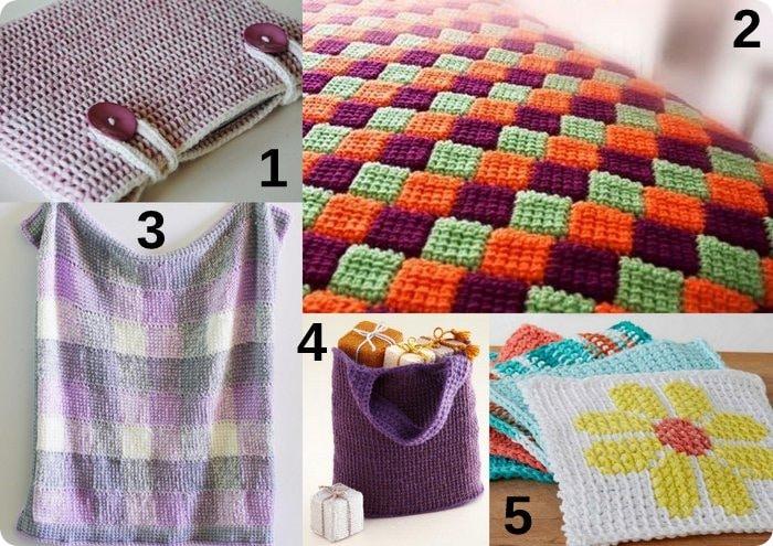Diy tutorial piastrella quadrata alluncinetto tutorial crochet