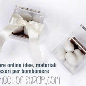 Dove trovare online idee, materiali e accessori per bomboniere