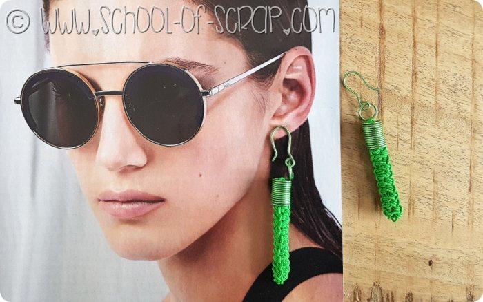 tutorial orecchini uncinetto facili con la spighetta rumena_