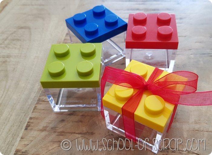 Bomboniere fai da te idee con i Lego-