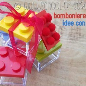 Bomboniere fai da te: idee con i Lego
