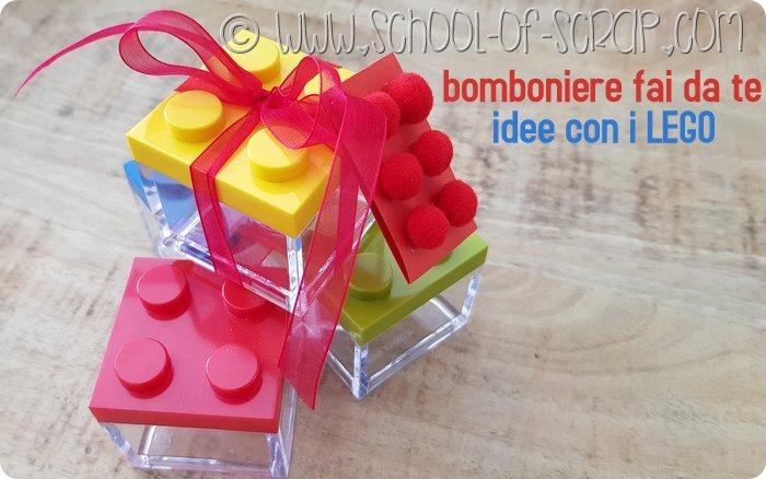 bomboniere fai da te idee con i LEGO