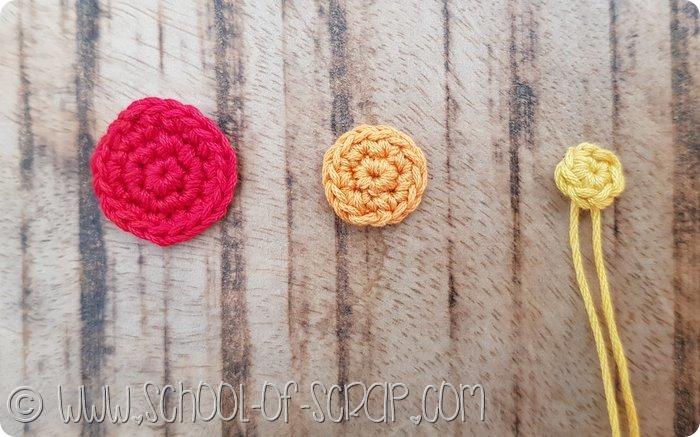 Come fare bottoni a crochet facili, belli e di tutte le misure