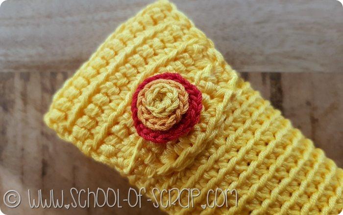 Come fare un astuccio portapenne, occhiali o uncinetti a crochet (2)