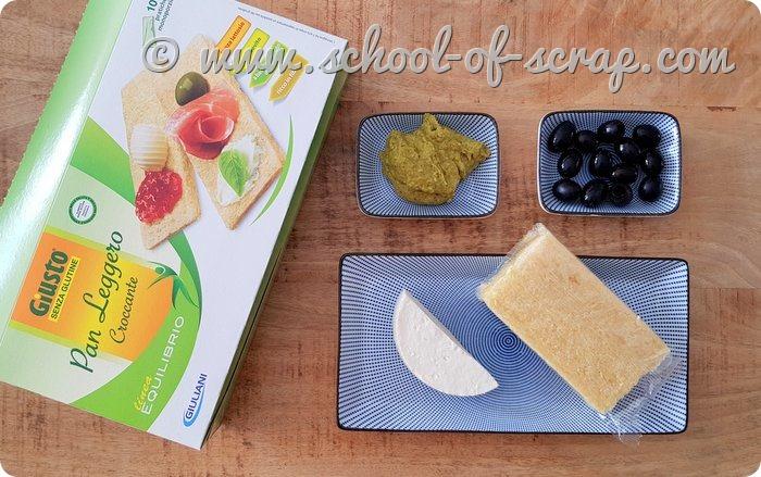 Tartine salate per Halloween Frankenstein senza glutine_