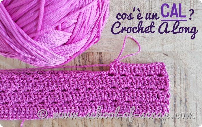cos'è un CAL - Crochet A Long