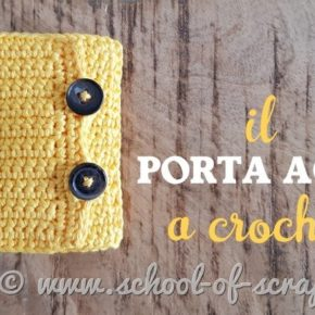 come fare un porta aghi all'uncinetto video tutorial