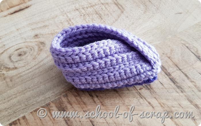 Come fare delle pantofoline per neonati facili - facili