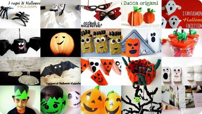 Lavoretti di Halloween 40 decorazioni facili da copiare_