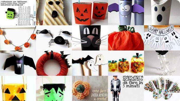 Lavoretti di Halloween 40 idee facili da copiare