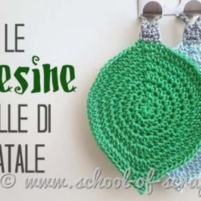 Video tutorial Presine palle di Natale all'uncinetto