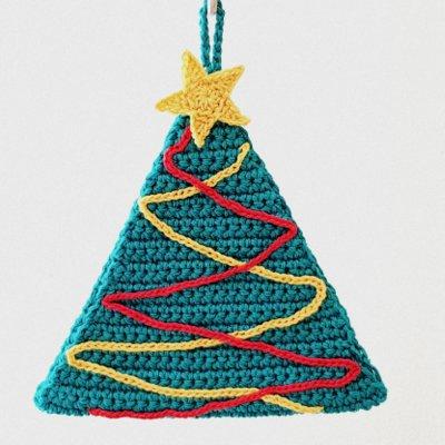 Presina albero di Natale pattern spiegazione in formato PDF
