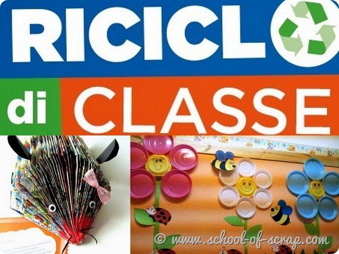 Spiegare il riciclo ai bambini - Riciclo di classe e non solo