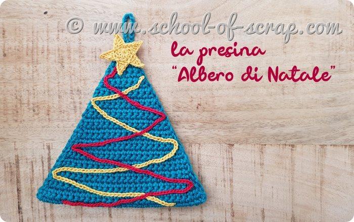 Presina Albero Di Natale Uncinetto.Nuovo Pattern Per La Presina Albero Di Natale All Uncinetto