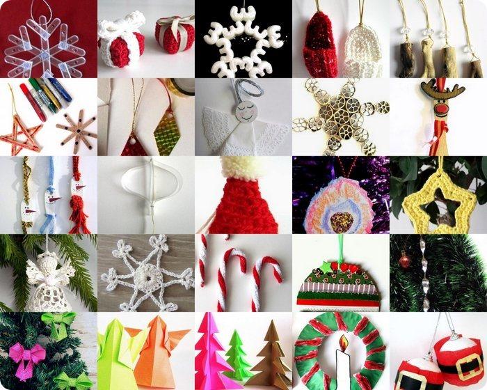 Decorazioni di Natale fai da te 70 e più tutorial facili da copiare