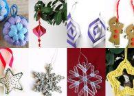 Decorazioni di Natale fai da te: 70 e più tutorial facili da copiare