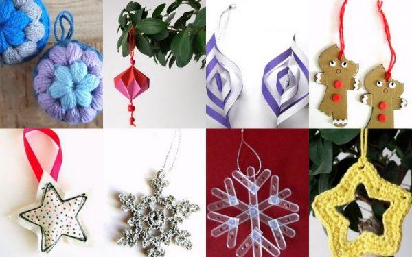 Lavoretti Di Natale Veloci E Facili.Decorazioni Di Natale Alessia Scrap Craft