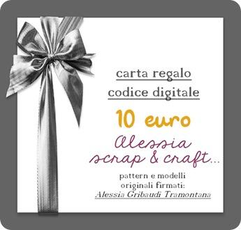 coupon sconto 10 euro - Pattern Alessia Gribaudi Tramontana