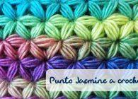 Uncinetto: tutorial e schemi del Punto Jasmine o Punto Stella