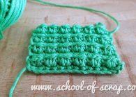 Scuola di uncinetto: il punto bacca o berry stitch