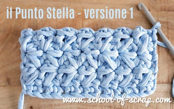 Uncinetto Punto Stella.Uncinetto Video Tutorial Del Punto Stella Alessia Scrap Craft