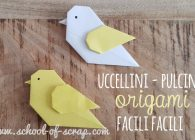 Tutorial del pulcino uccellino origami facile e bello