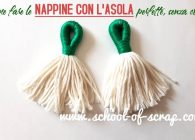 Come fare nappe e nappine con l'asola rivestita di filo