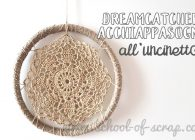 Video tutorial dreamcatcher acchiappasogni a crochet