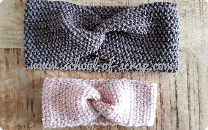 Tutorial fascia a turbante di lana all'uncinetto o a maglia RAK of Kindness-