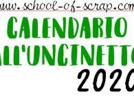 Il mio regalo per il nuovo anno per te: Calendario all'Uncinetto 2020