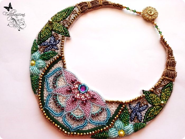 video Tutorial BEAD EMBROIDERY tecniche di base