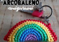 Uncinetto facile: tutorial portachiavi arcobaleno amigurumi a crochet