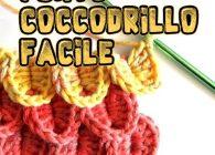 Video tutorial uncinetto punto coccodrillo, imparalo facilmente