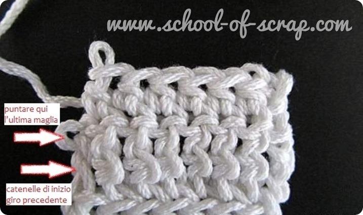 Uncinetto facile come lavorare margini dritti e perfetti a crochet-001