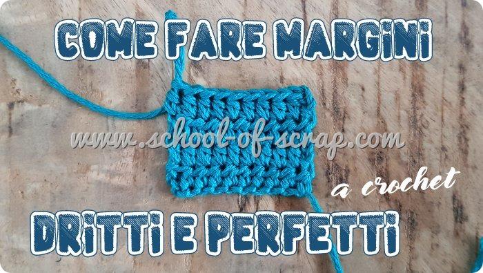 Uncinetto facile - come lavorare margini dritti e perfetti a crochet