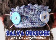 Uncinetto facile: video tutorial salvaorecchie stile boho chic per la mascherina