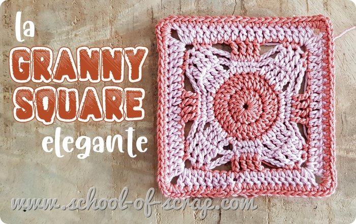 Uncinetto facile la mattonella granny square elegante e facilissima