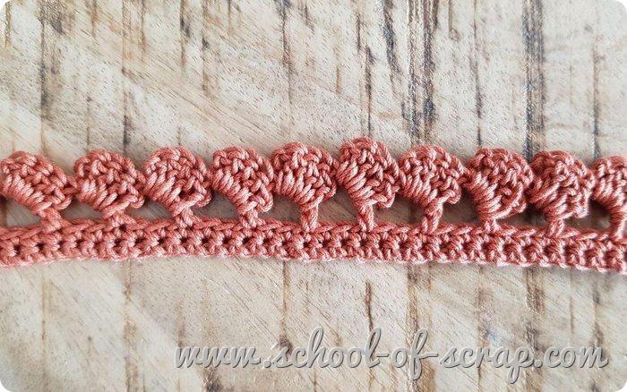 Uncinetto facile - speciale bordi e bordure bordo a onde a crochet