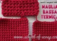 Uncinetto facile: tutti i segreti della maglia bassa termica