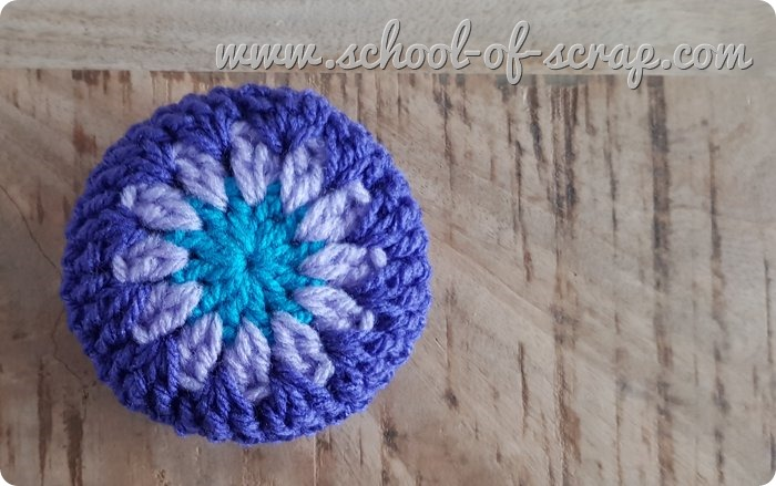 Uncinetto facile speciale regali scatolina granny a crochet-