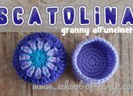 Uncinetto facile speciale regali: scatolina granny a crochet
