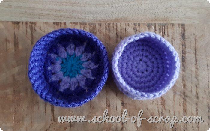 Uncinetto facile - speciale regali scatolina granny a crochet