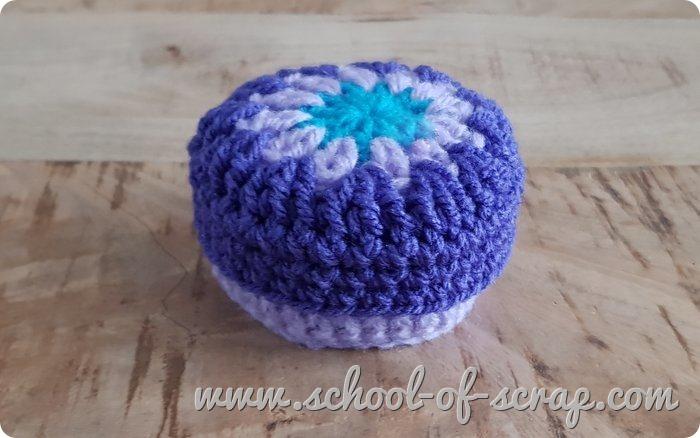 Uncinetto facile speciale regali scatolina granny a crochet_