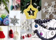 Decorazioni all'uncinetto per l'albero di Natale: 11 idee da copiare subito