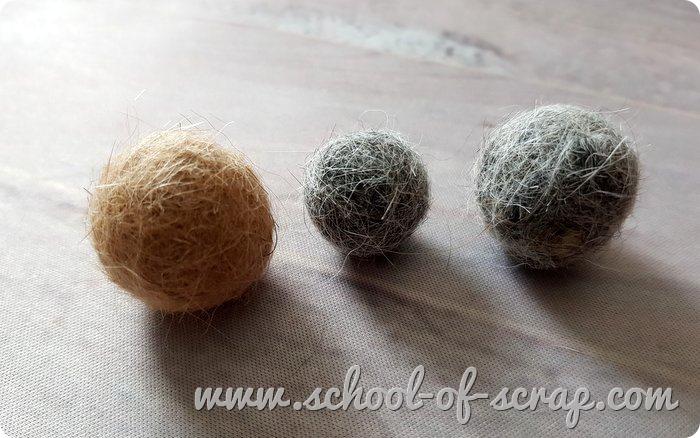 Come fare palline perle di feltro con il pelo del tuo cane o gatto