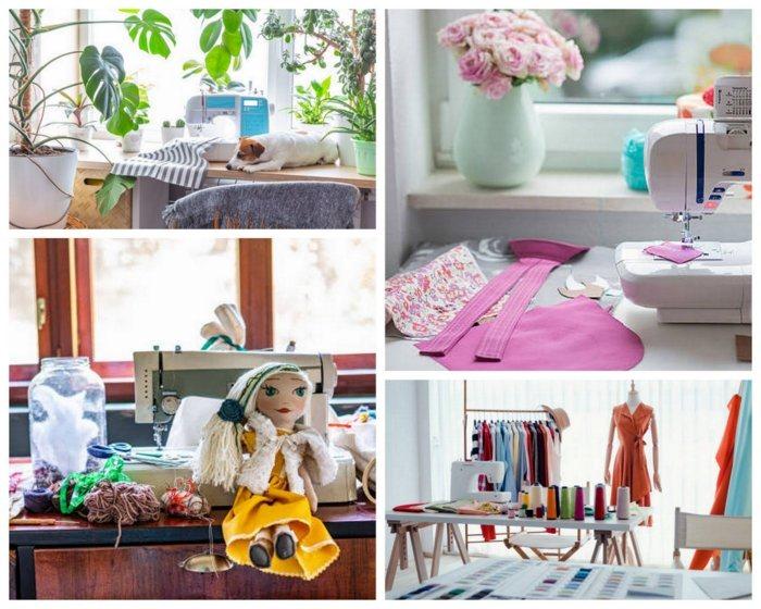 uncinetto, cucito, maglia e tanti altri Idee per progettare la stanza degli hobby