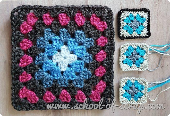 Come fare la mattonella granny square perfetta e dritta