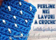 Lavori all'uncinetto con perline: video tutorial del metodo più facile per farlo