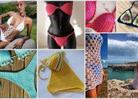 Crochet Mania estate: 7 idee da copiare per bikini e costumi da bagno a uncinetto